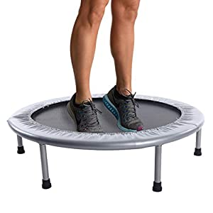 Stamina 36-Inch Folding Trampoline | Quiet and Safe Bounce | Access To Free Online Workouts Included | Supports Up To…
