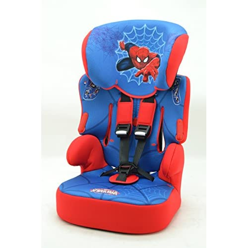 SIEGE AUTO REHAUSSEUR BELINE SPIDERMAN DISNEY MARVEL GR 1/2/3 ECER44/04 hot sale