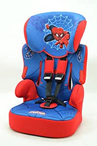 Siege Auto asiento elevador Beline Spiderman Disney Marvel Gr 1/2/3ecer44/04