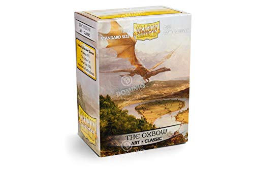 Arcane Tinman Dragon Shield: Limited Edition Art: The Oxbow - Box of 100 Sleeves, Standard AT-12016 (Card Sleeves Edition)