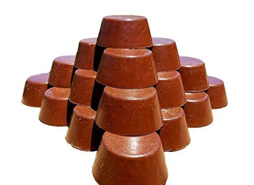 Orgonite Andy - Orgone Generator - 20 Small Red Rock Sedona Vortex Tower Buster Pucks - EMF Protection, Chakra Healing, Orgone Energy Accumulator (20 mini TB Pucks)