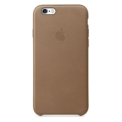 Apple iPhone 6S PLUS in Pelle CASE, Marrone/Brown