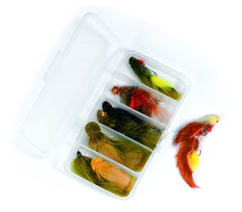Streamer Fly Fishing Flies -kit - Galloup's Signature- Collection of 9 (Pike Streamer)