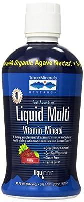 Trace Minerals Research Liquimins Liquid Multi Vita-mineral-berry, 32-Ounces Bottle