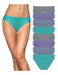 Fruit of the Loom Dream Flex Women's Bikini 8 Pack