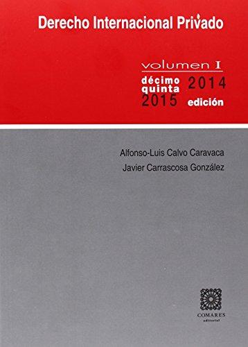 Descargar Libro Derecho Internacional Privado I. Alfonso-luis Calvo Caravaca
