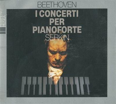 Beethoven: I Concerti per Pianoforte (complete Piano Concertos) By Rudolf Serkin ,,Ludwig van Beethoven (Composer) (0001-01-01)