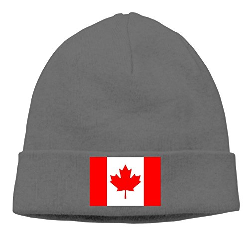 Unisex Flag Of Canadian Wool Winter Hats Cool Beanie Head Wear Fashion For Outdoor & Home (Canadian Wool)