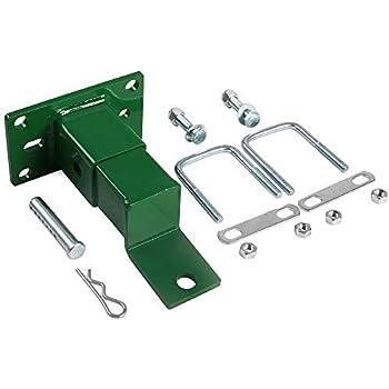 Compatible with John Deere HD Switch John Deere TCB11531 Heavy Duty Tow Trailer Hitch Kit w//Chain Slot