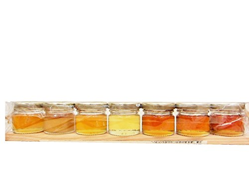 France 7 kinds of honey to eat than set (acacia other, Alsace production, each (Alsace Set)