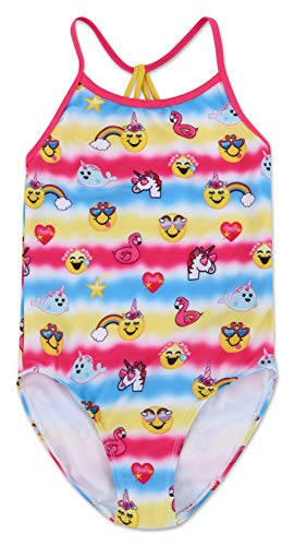 Dreamwave Girls' Emojination One Piece Swimsuit 5/6 -