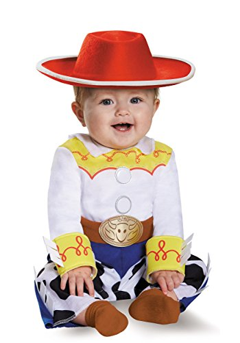 Disguise Baby Girls' Jessie Deluxe Infant Costume, Multi, 6-12 Months]()
