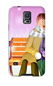 OnteBle666rSgWE Christmas Awesome High Quality Galaxy S5 Case Skin