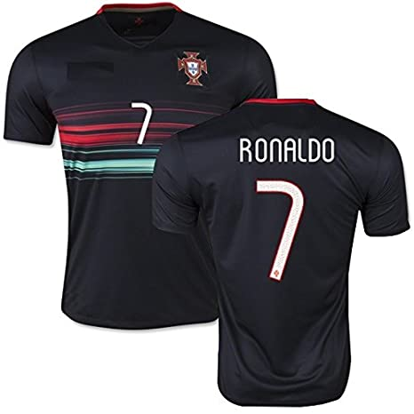 new style 48ade 4c9d1 YOUTH PORTUGAL RONALDO # 7 jersey and shorts kit