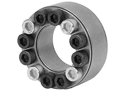45 mm shaft diameter x 75mm outer diameter of shaft locking device Lovejoy 1500 Series Shaft Locking Device 1254 ft-lb Maximum Transmissible Torque Metric