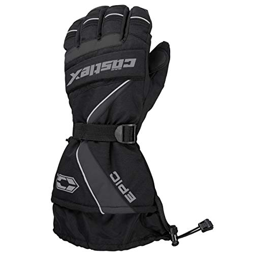 Castle X Epic-G1 Mens Snowmobile Gloves - Gray - XLG
