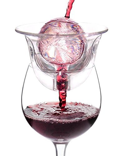 Ventorosso Wine Aerator - Works with surface area. Patented and tested. (Ventura Wine Aerator)