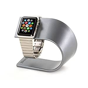 Apple Watch Stand, Snugg – [Base de carga] Apple reloj soporte cargador estación [aluminio mesita de noche]