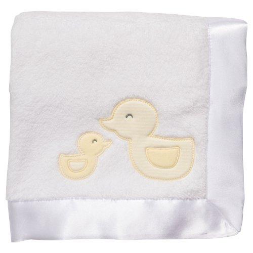 Duckie Baby Blanket (Carter's Cuddle-Me Blanket - Striped Duckies)