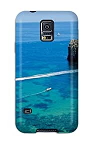 Galaxy S5 Case Cover With Shock Absorbent Protective UXyshgn20309vUaBG Case