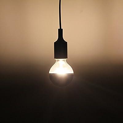 Half Chrome Light Bulb 6W