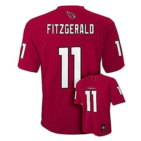 b18560f12 Amazon.com   Larry Fitzgerald Arizona Cardinals  11 NFL Kids 4-7 Mid-Tier  Team Jersey Red (Kids Small Size 4)   Sports   Outdoors