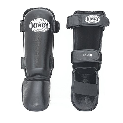 Windy Shin Guard Protector for Protection in Muay Thai, Boxing, Kickboxing