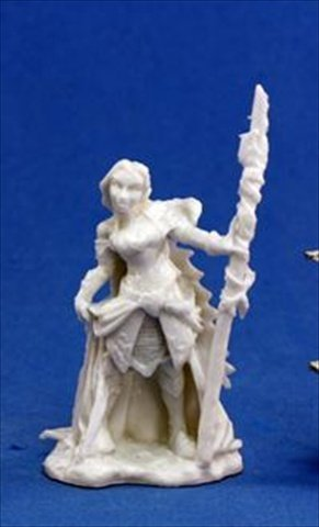 Grim Reaper miniature 77,036 Bones - Devona, female wizard