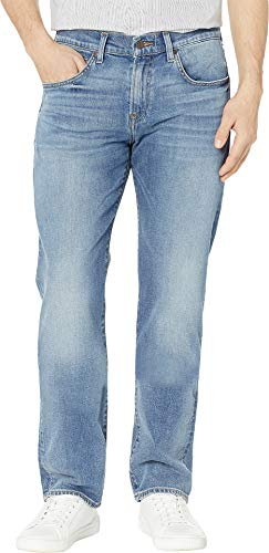 7 For All Mankind Men's The Straight Tapered Pioneer 38 - For Cotton Mankind Belt 7 All