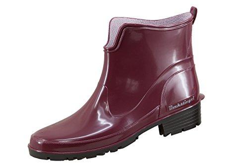 Bockstiegel - Botas de Pvc para mujer Rojo