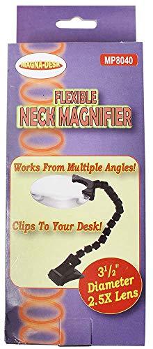 (Flex-Neck Acrylic Magnifier, Case Pack of 48)