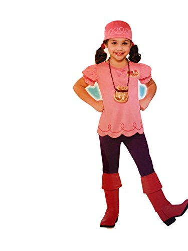 Izzy Costume- Jake and the Never Land Pirates- 3-4 Toddler (Jake And The Neverland Pirate Boots)