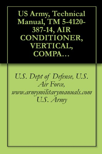 US Army, Technical Manual, TM 5-4120-387-14, AIR CONDITIONER, VERTICAL, COMPACT, 6,000 BTU/HR 115 VOLT, SINGLE PHASE, 50/60 HERTZ, military manuals