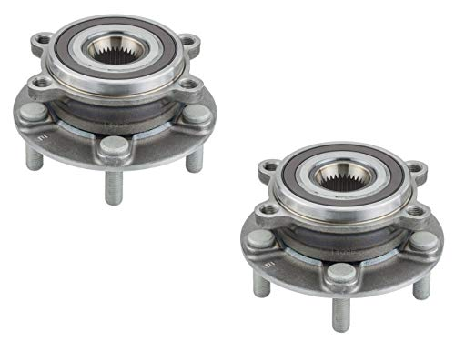 HU513347 x2 Brand New Front Set Wheel Bearing Hub - Hub 6 Stud Front