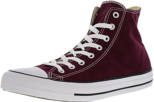 High Taylor Burgundy Sneaker Leather Star Top Women's All Chuck Converse PwYqSY