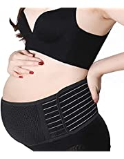Maternity Belt, Belly Band for Pregnancy, Comfortable Back and Pelvic Postpartum Support - Adjustable Belly Band for Pregnancy …