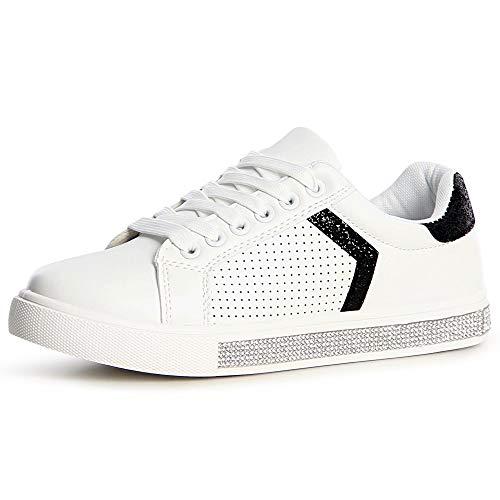 Topschuhe24 Nero Sneaker Sneaker Sneaker Donna Nero Donna Topschuhe24 Sneaker Topschuhe24 Donna Nero Donna Topschuhe24 Nero 5gHgAxqwT