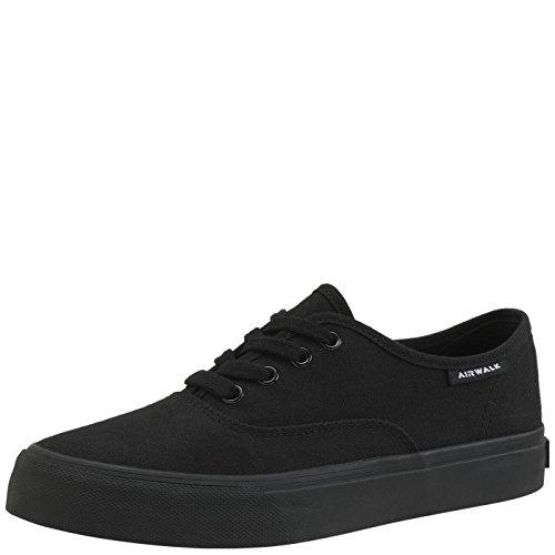Black Shoes Canvas (Airwalk Women's Black Women's Rio Sneaker 10 Regular)
