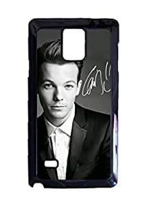 Engood Design One Direction Louis Tomlinson Case Durable Unique Design Hard Back Case Cover For Samsung Galaxy Note 4 New