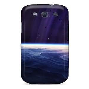 New Fashion Premium Tpu Case Cover For Galaxy S3 - Light Stars Planet