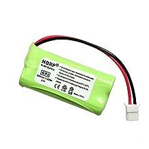 HQRP Cordless Phone Battery for VTech BT283342 / BT162342 Replacement plus Coaster