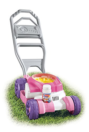 Fisher Price Toddler Pull Toy - Fisher-Price Bubble Mower, Pink