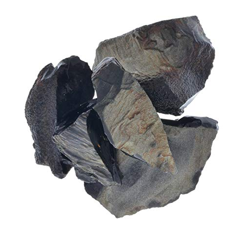 Obsidian Gold (Digging Dolls: 1 lb of Gold Sheen Obsidian Rough Stones from Mexico - Raw Rocks Perfect for Lapidary, Tumbling, Polishing and Crafts!)