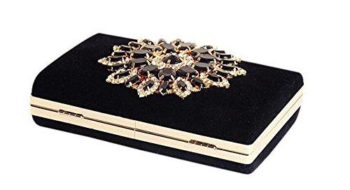 Ledyoung Pochette noir Ledyoung pour Pochette femme q01waqd