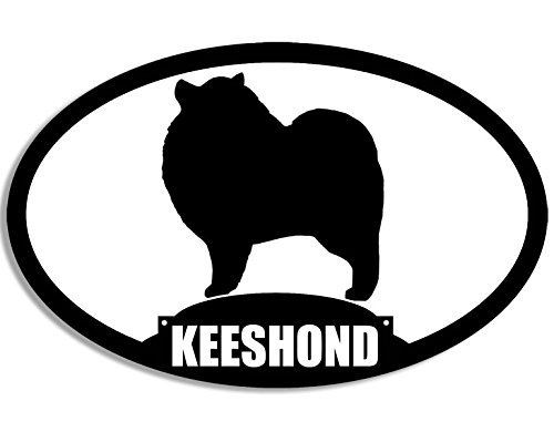 Keeshond Silhouette - 6