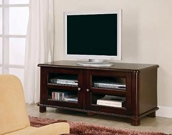Cappuccino Finish LCD Plasma Media Storage TV Stand