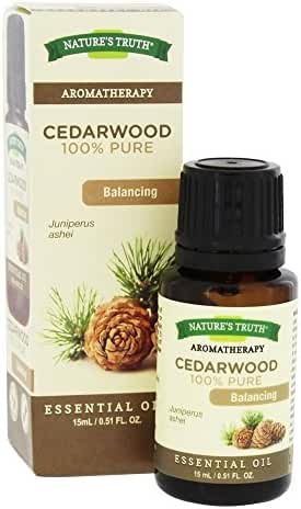 Nature's Truth Vitamins Essential Oil, Cedarwood, 0.51 fl. oz.