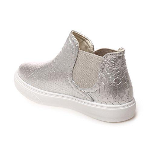 Modeuse Zapatillas La deporte para plata mujer de U1Uw5xdrq