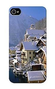 Ellent Design Hallstatt In Winter, Austria Phone Case For Iphone 5/5s Premium Tpu Case For Thanksgiving Day's Gift