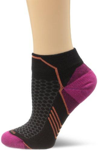 Sockwell Womens Incline Inspire Athletic Lo Quarter Socks  Black  Small Medium